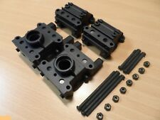 New Ansmann 'Virus 2'/'Terrier 2' Front+Rear Diff/Gearbox Case Spares 115000202