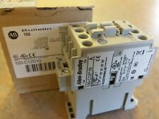 100-C12D10 100C12D10 Allen Bradley  CONTACTOR 12AMP 120VAC