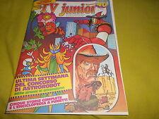 TV JUNIOR  ANNO 2  NUMERO   40   1980 HEIDI  L'APEMAIA   ASTROROBOT  INSERTO