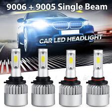 4pcs PHILIPS 9005 9006 LED Headlight  Total 320W 32000LM Combo 120w each