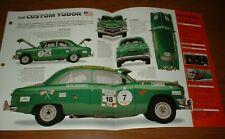 ★★ 1950 Ford Personalizzato Tudor Race Originale Imp Brochure Specifiche