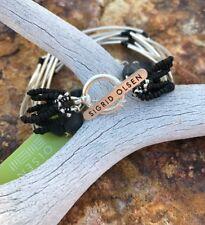 Bracelet New Msrp $48.00 Sigrid Olsen Silvertone Semi-Precious Accents