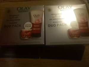 Olay Regenerist Whip Duo Pack Anti-Aging (Cleanser SPF Moisturizer)