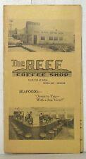 Vintage Reef Coffee Shop menu, Depoe Bay Oregon