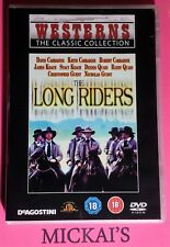 THE LONG RIDERS - WESTERNS THE CLASSIC COLLECTION WTCCN17 DeAGOSTINI DVD PAL OOP
