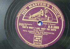 78rpm PHIL HARRIS that`s what i like `bout the south / if you`re ever in texas