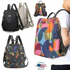 Women Handbag School Backpack Anti-Theft Waterproof Rucksack Travel Shoulder Bag