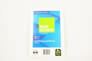 New H&R Block 2018 Tax Software, Self Employed/Rental Premium FEDERAL STATE
