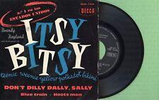 BRANDY RAYLAND / Itsy Bitsy - Blue Train DECCA EDGE-71419 Pres. Spain 1960 EP EX