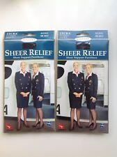 Sheer Relief by Kolotex Average Ink Navy