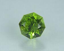 Peridot. Octagonal Shape. Precision Cut. Gorgeous Stone. 8.35mm. 2.75cts.