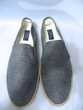 Polo Ralph Lauren Men's  Swittle Espadrille Chambray slipper/ SHOE US: 13.D
