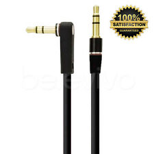 BLACK 3.5MM AUDIO AUX CABLE LEAD FOR MONSTER BEATS BY DR DRE SOLO, MIXR, STUDIO