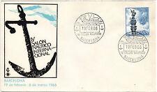 España Salon Nautico Barcelona año 1966 (BT-632)