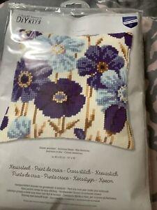 vervaco cross stitch cushion kits
