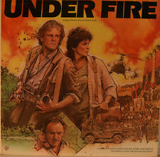 "OST - SOUNDTRACK - UNDER FIRE - JERRY GOLDSMITH 12"" LP (M9)"