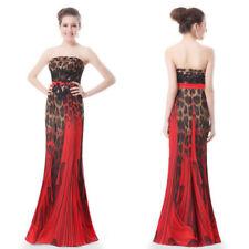 Regular Size Formal Animal Print Dresses for Women