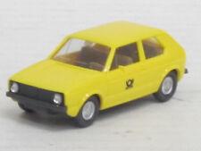 VW Golf I Postwagen, gelb, o.OVP, Wiking, 1:87