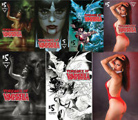 Vengeance of Vampirella #5 Parrillo Oliver Segovia Cosplay 1:10 1:11 1:15 1:20