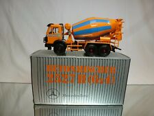 NZG MODELLE 384 MERCEDES BENZ 2527B CONCRETE MIXER - 1:43 - VERY GOOD  IN BOX