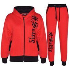 Pyjamas rouges en polyester pour fille de 2 à 16 ans
