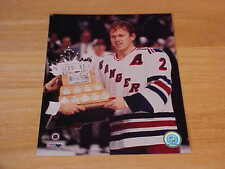 Brian Leetch Conn Smythe Officially LICENSED 8X10 Photo FREE SHIPPING 3/morej