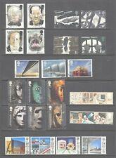 GB Commemoratives Fine Used Sets   1971 - 1989