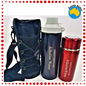 1 Sml & 1 Lge Amazing Healthy Water Bottles. Ionized/ Alkaline/ Filtered Water.