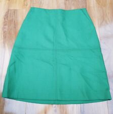 Boden Ladies GORGEOUS green 100% Wool skirt UK size 10L. Brand new WG694
