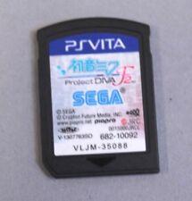 Hatsune Miku: Project DIVA F 2nd (Sony Playstation Vita, 2014) NTSC-C Game GG8