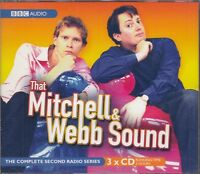That Mitchell & Webb Sound Compete Series Two 2 Second 3CD Audio Radio 4 Comedy