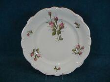 """Rosenthal Pompadour Shape Moss Rose Ivory Body 10"""" Dinner Plate(s)"""