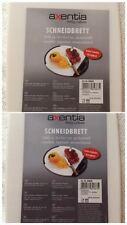 Schneidebrett 30x 18 x 1 cmKunststoff Schneidebrett / Axentia / OVP