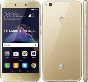 Gold Huawei P8 Lite 2017 Unlocked 4G LTE Smartphone Rear fingerprintID 4GB/32GB