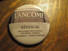 Lancome Renergie Anti Wrinkle Firming Skin Cream Jar Logo Pocket Lipstick Mirror