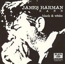 Black & White by James Harman (Harmonica)/The James Harman Band (Harmonica) (CD,