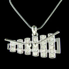 w Swarovski Crystal ~Bell Kit Set Xylophone Marimba~ percussion Music Necklace