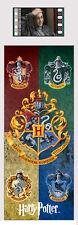 Film Cell Genuine 35mm Laminated Bookmark World of Harry Potter Hogwart Crests