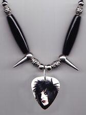 Black Veil Brides Jake Pitts Photo Guitar Pick Necklace