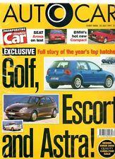 AUTOCAR - 30 July 1997 - Road Test: Seat Arosa 1.4 MPi Auto
