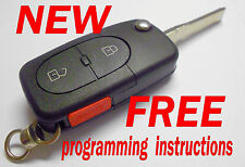 NEW AUDI A4 S4 KEYLESS REMOTE ENTRY FOB MZ241081964 UNCUT KEY FCC 4D0837231D