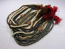 16 Water Buffalo Bone Mala Strands India Handmade Beads Wholesale Bulk Lot (J-1)