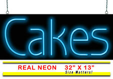 """Cakes Neon Sign 