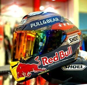 X-Fourteen X14 Motorcycle Full Face Helmet MARQUEZ 93 Red Bull AMERICA GP TC-2