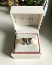 Genuine Pandora Reflexions Bedazzling Butterfly Clip Charm - 797864CZM