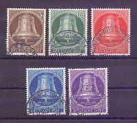 Berlin 1953 - Glocke Mitte - MiNr.101/105 rund gestempelt - Michel 55,00 € (912)