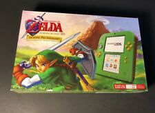 Nintendo 2DS LINK Green Edition Bundle W/ Ocarina of Time & Charger  NEW