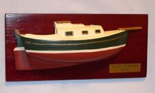 "Pacific Seacraft Flicka 1'4""=1' Scale Half Hull Wall Display Model"