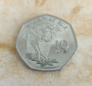 A Sir Seewoosagur Ramgoolam Collectible Mauritius 10 Rupees Coin