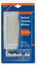 Homz SWIVEL SHOWER MIRROR Razor Hook Fogless Unbreakable Suction Cup Travel 2291